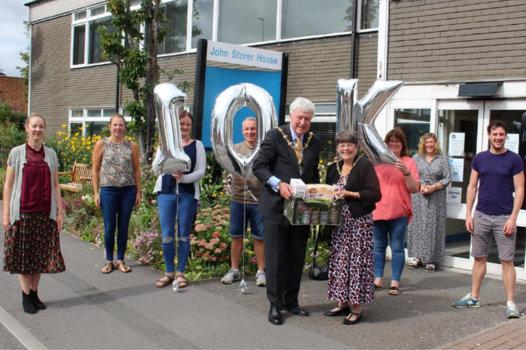 Charnwood Community Action Reaches 10k Milestone