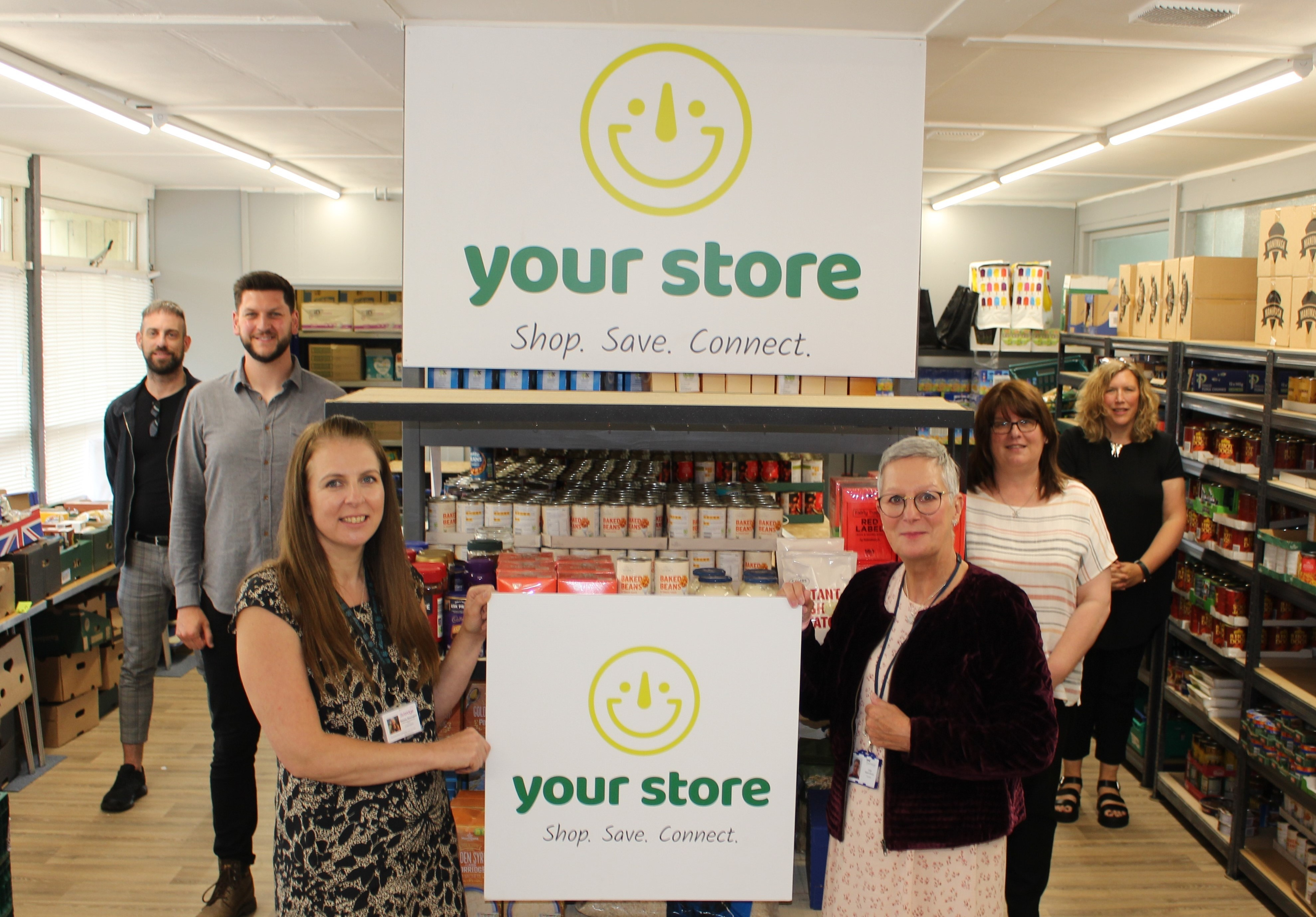 Social Supermarket to Offer Affordable Shopping to People in Need