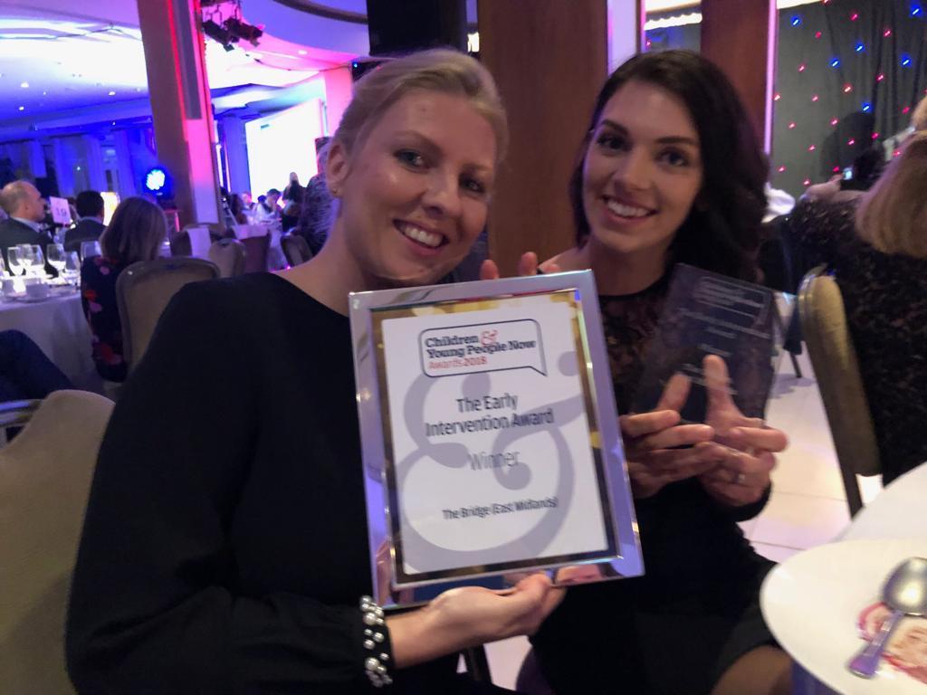 Loughborough homeless charity wins prestigious national award