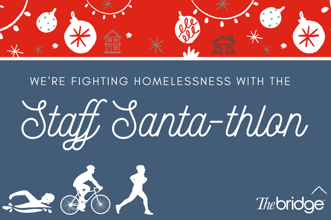 The Bridge Launches The Staff Santathlon Christmas Campaign!